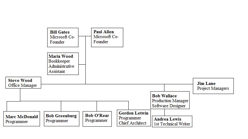 Image Source Http Prezi Nyq R5tcjjyz Organizational Structure Of Microsoft Copied Into Paint