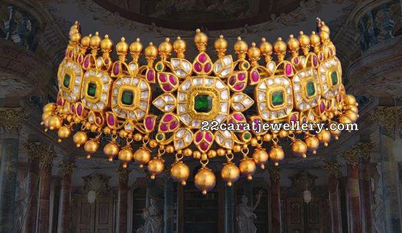 Latest Jewellery Designs by Vasundhara Exotic Jewellers