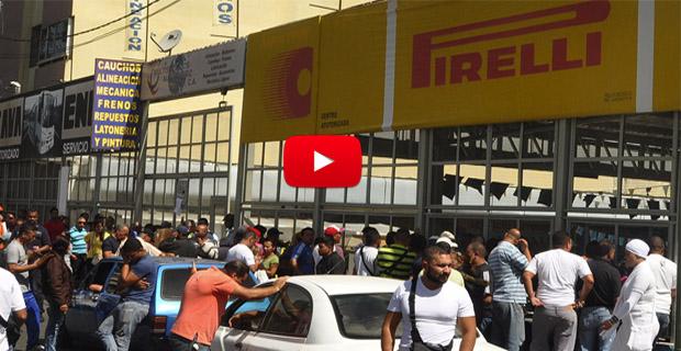 Cauchos Pirelli cierra sus puertas debido a falta de materia prima