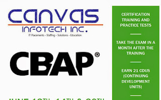 CBAP certification training in CA