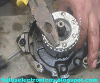 como quitar el rotor de un compresor de nevera