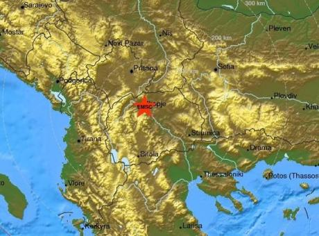 Erdbeben erschüttern Skopje in der Nacht