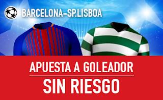 sportium promocion champions Barcelona vs Lisboa 5 diciembre