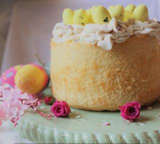 chiffon cake dolce pasqua