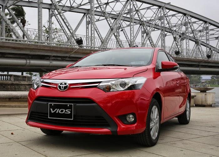 Toyota Vios 2014 giá bao nhiêu