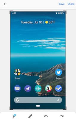 Cara Mengambil Screenshot di Android P,Ini Caranya 2