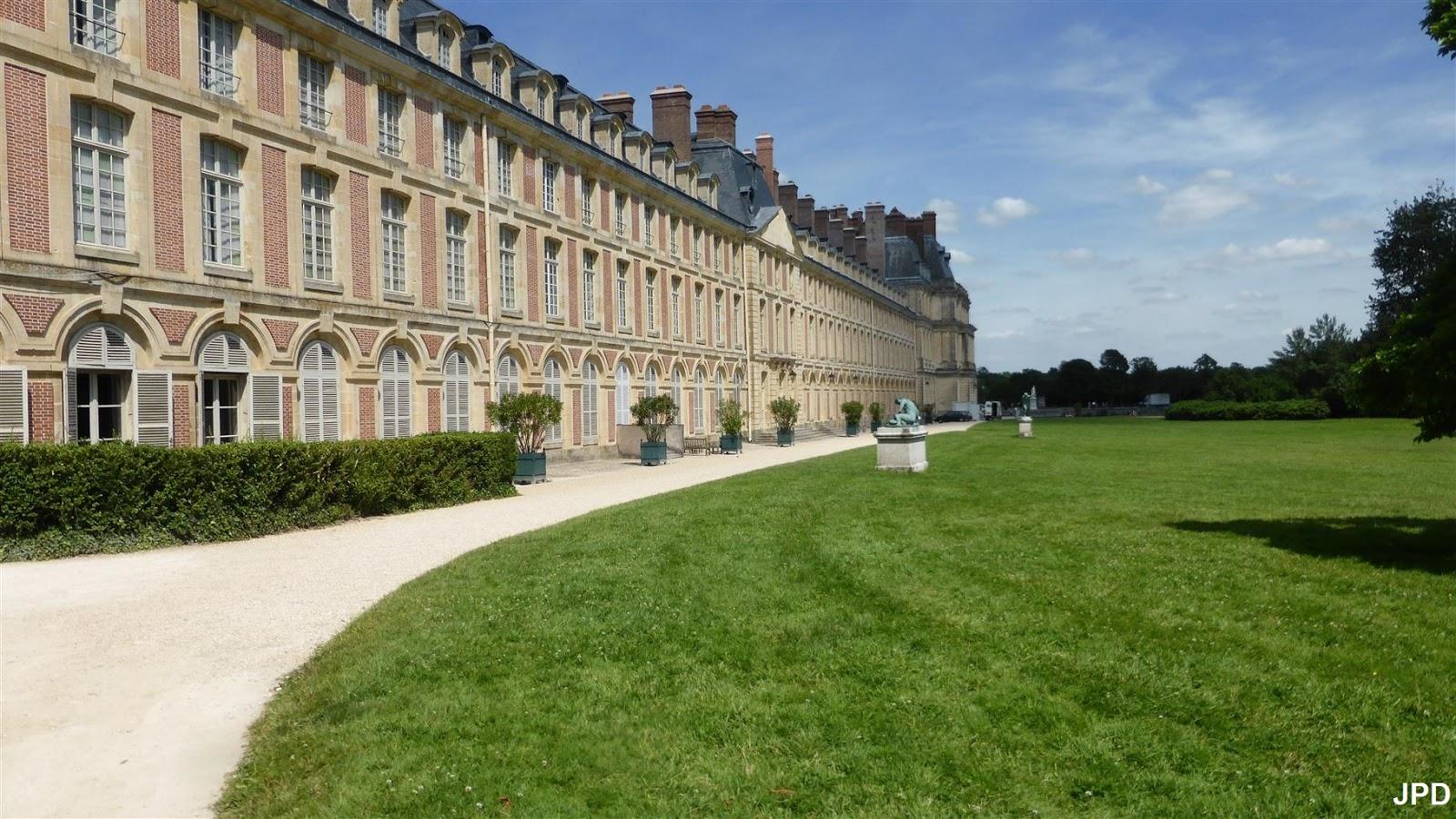 Paris bise art ch teau de fontainebleau 11 le jardin for Jardin anglais fontainebleau