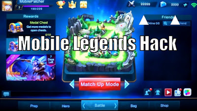 Cara Cheat Diamond Game Mobile Legends Tanpa Root di Android