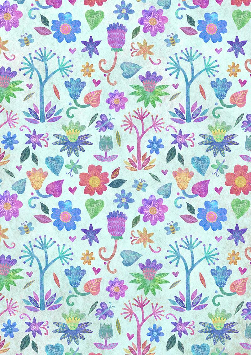 Emily Rose Illustration: Funky Flowers