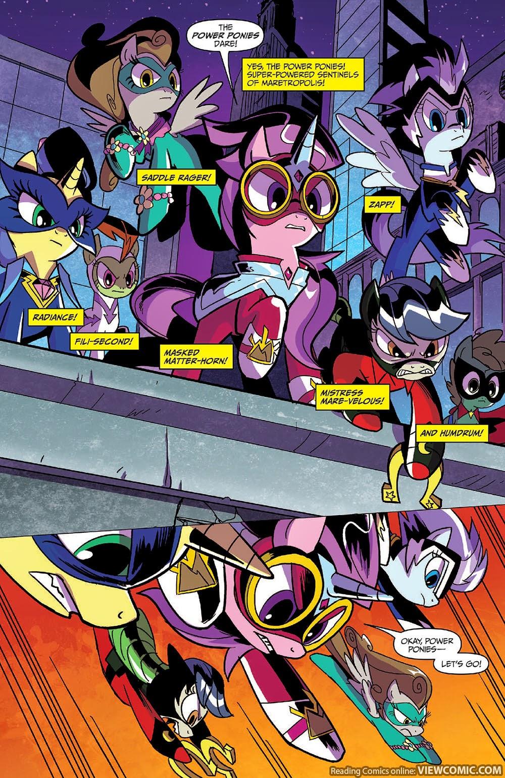 My Little Pony Comic Pdf