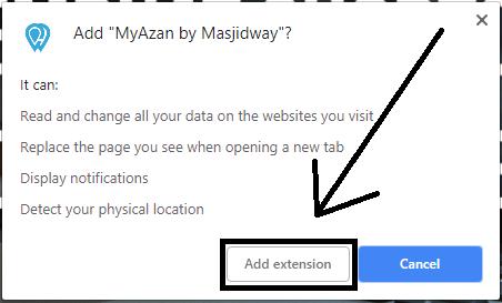 2 Cara Mendapatkan Notifikasi Azan di Google Chrome