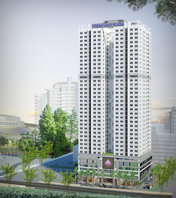 Phối cảnh dự án chung cư Dram Land Plaza Nguyễn Tuân