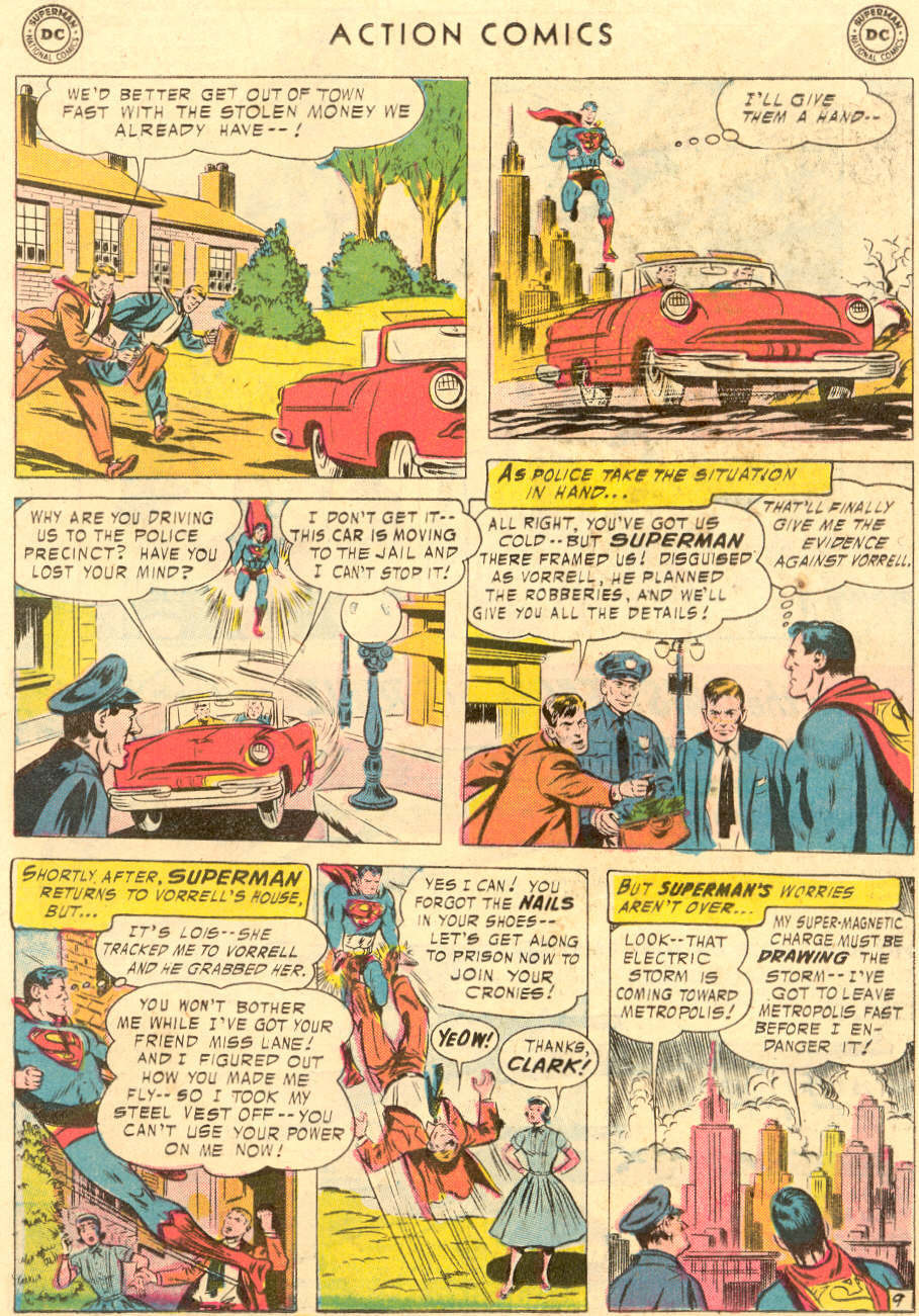Read online Action Comics (1938) comic -  Issue #221 - 11