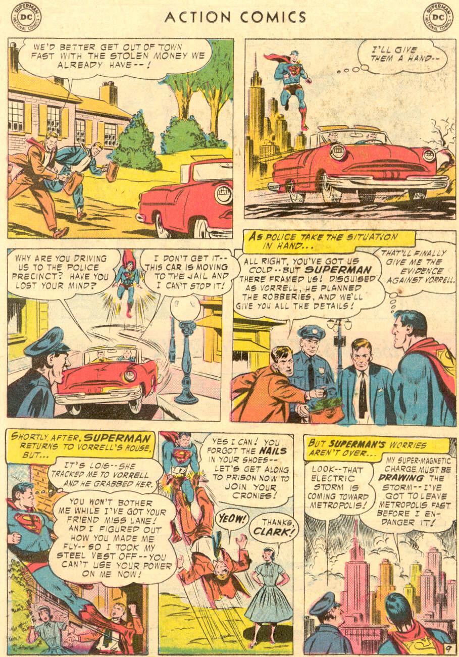 Action Comics (1938) 221 Page 10