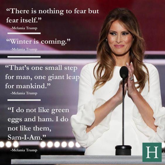 Funny Melania Trump Quotes Picture