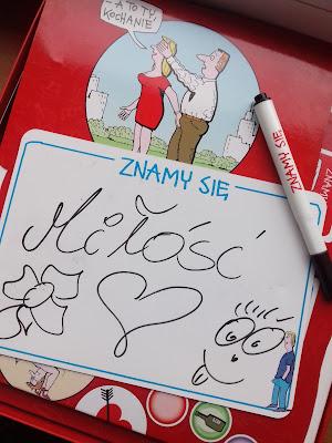 Znamy się: gra z ilustracjami Andrzeja Mleczki; gra dla par