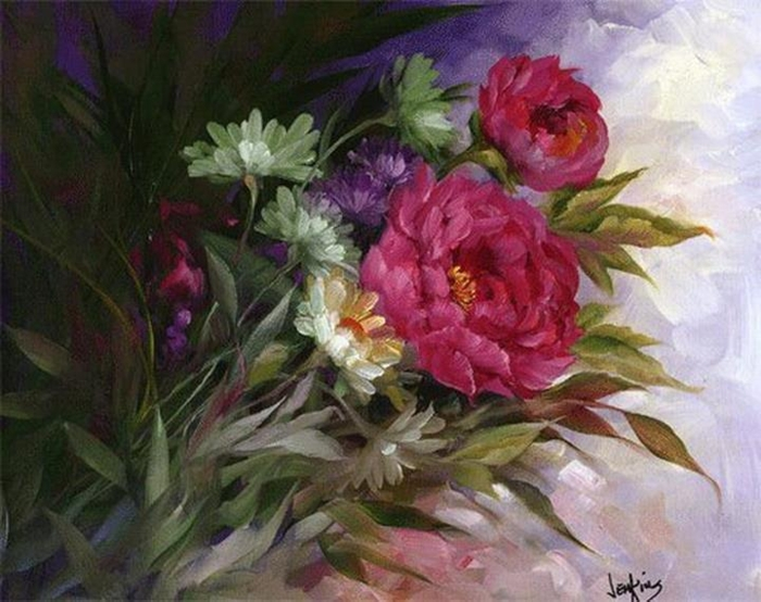 Цветочные картины. Gary Jenkins 23