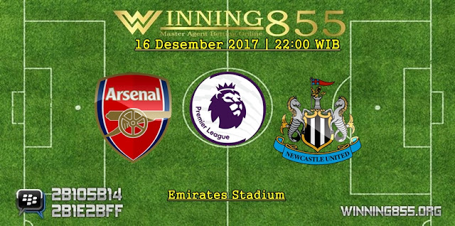 Prediksi Akurat Arsenal vs Newcastle 16 Desember 2017