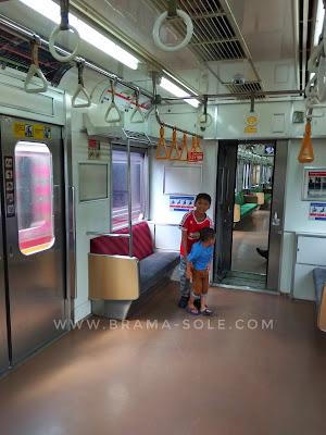 krl commuter line jakarta kota depok