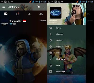 BBM Mod COC (Clash of Clans) Versi 3.3.1.24 Terbaru