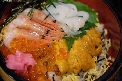 鳥取観光 境港市 御食事処海心 海鮮丼美味しかった!