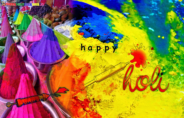 Happy Holi 2016 Hindi SMS