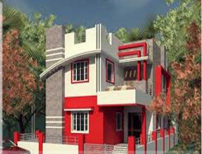 warna cat dinding luar rumah yang cerah 25