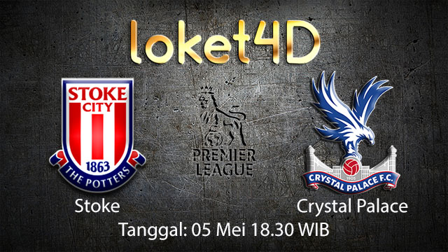 BOLA88 - PREDIKSI TARUHAN BOLA STOKE VS CRYSTAL PALACE 5 MEI 2018 ( ENGLISH PREMIER LEAGUE )