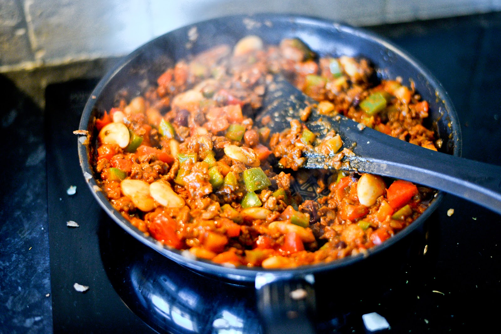 vegetarian chilli, veggie chilli recipe,