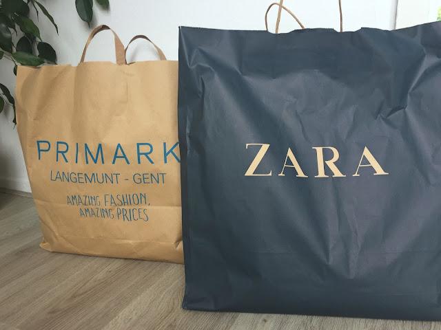 Shoplog Primark en Zara Gent