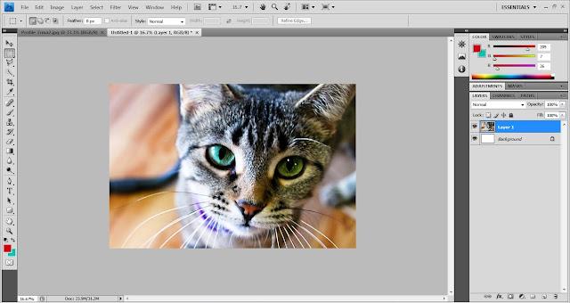 Cara Membuat Foto Mozaik