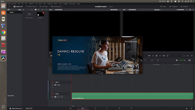 DaVinci Resolve 15 Ubuntu