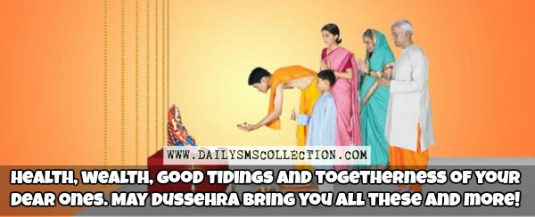 Happy Dussehra Greeting Cards Images for Kids