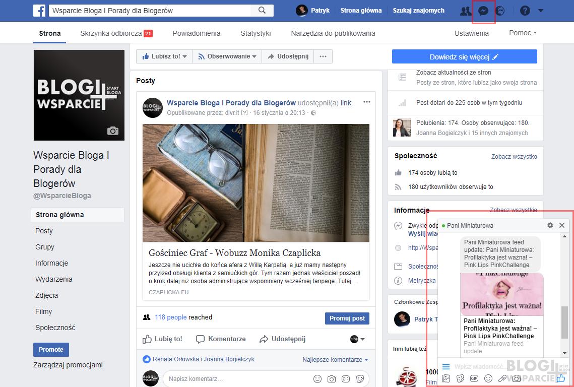 Powiadomienia o nowych postach na blogu poprzez Facebook Messenger? To możliwe! Jak zachęcić do skorzystania z subskrypcji bloga lub strony internetowej? Wstawianie kodu HTML w Bloggerze! Jak skonfigurować widget Revoice.me!