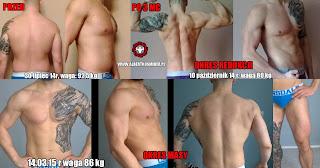 metamorfoza, odchudzanie, budowanie masy mięśniowej