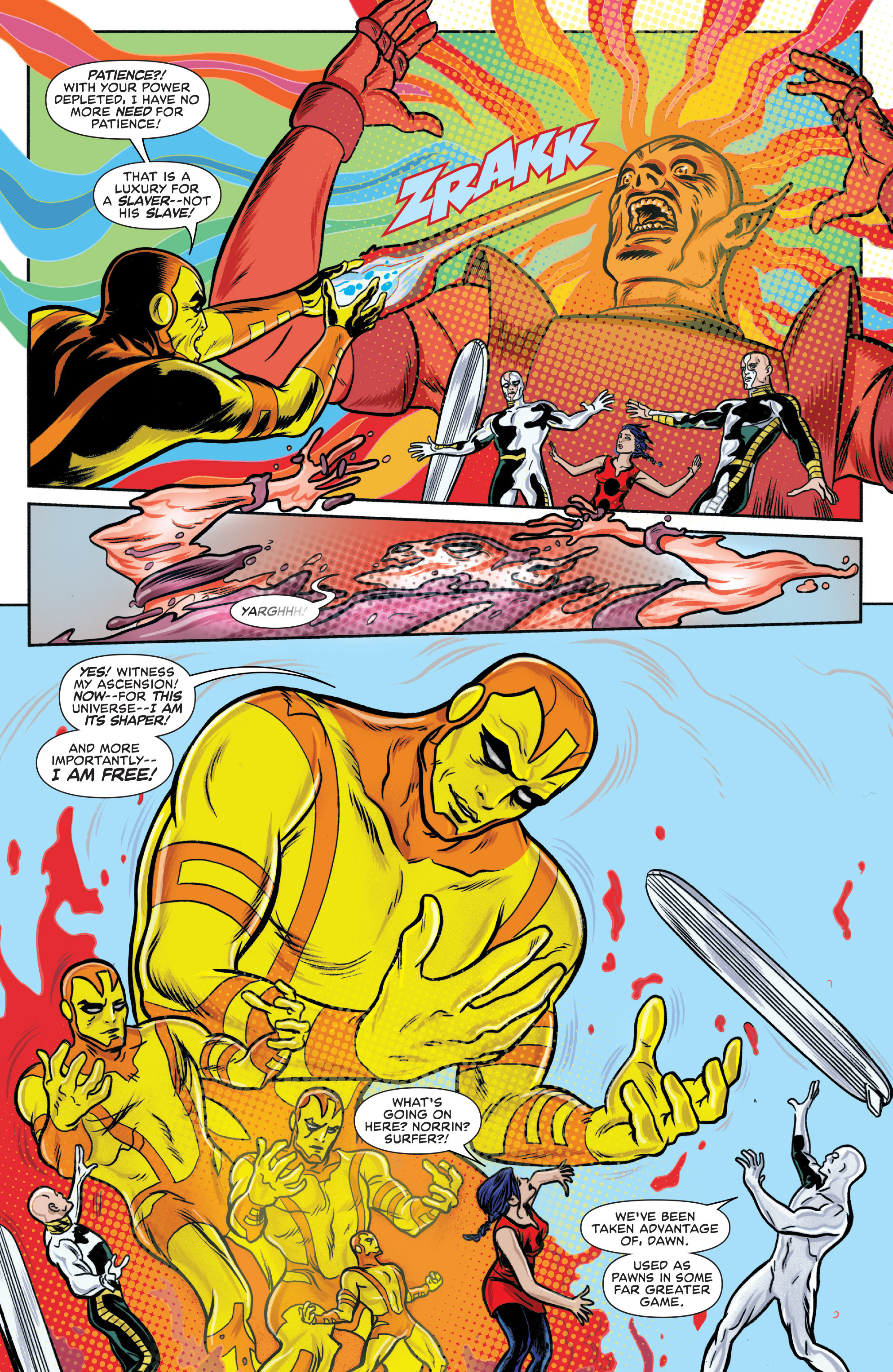 Read online Silver Surfer (2014) comic -  Issue #15 - 9