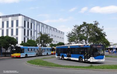 Solaris Urbino 18, MPK Kielce i Solaris Urbino 12, MPK Kraków