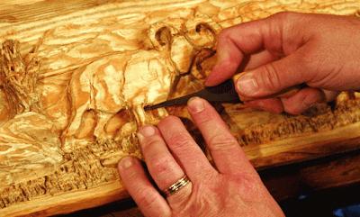 Bahan Dan Peralatan Berkarya Seni Ukir Kayu
