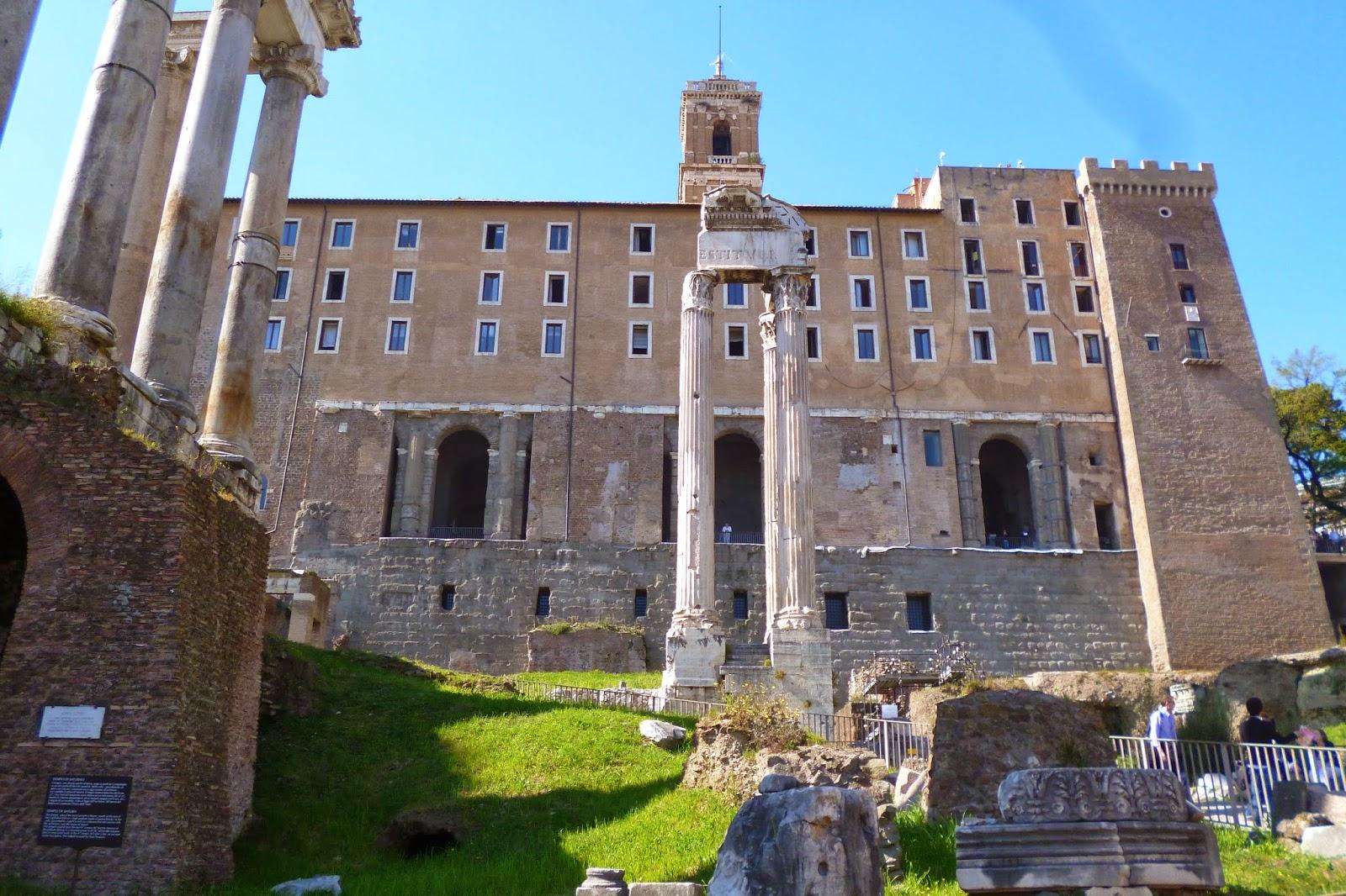 Foro Romano, Tabularium
