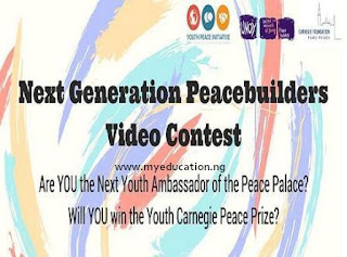 Next Generation Peacebuilders Video Contest - 2018