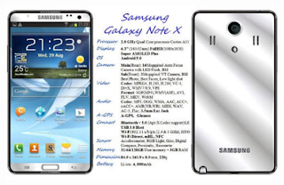 Samsung Galaxy X Manual