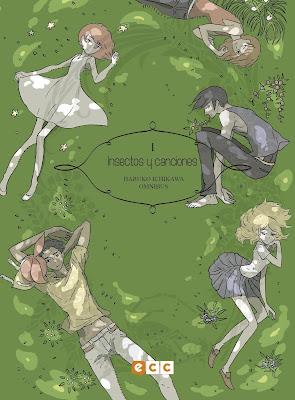 """Manga: Review de """"Haruko Ichikawa Omnibus: Insectos y canciones I"""" - ECC Ediciones"""