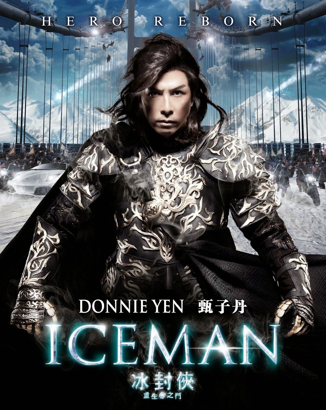 Poster Of The Iceman In Dual Audio Hindi Chinese 300MB Compressed Small Size Pc Movie Free Download Only At worldfree4u.com