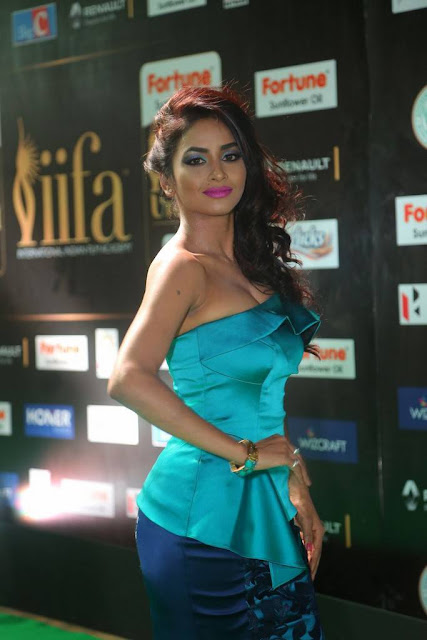 Pooja Sri Stills At IIFA Awards 2017