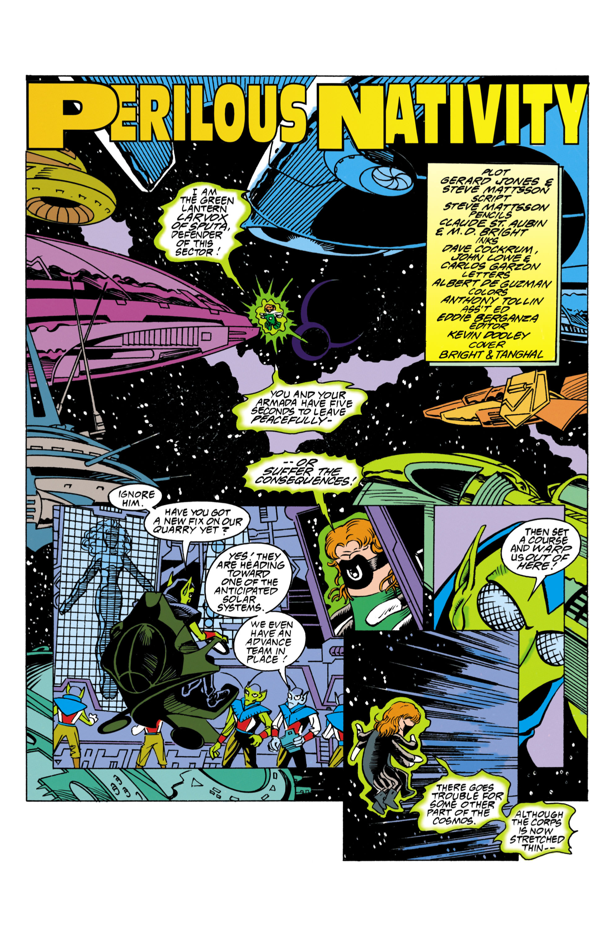 Green Lantern (1990) 43 Page 2