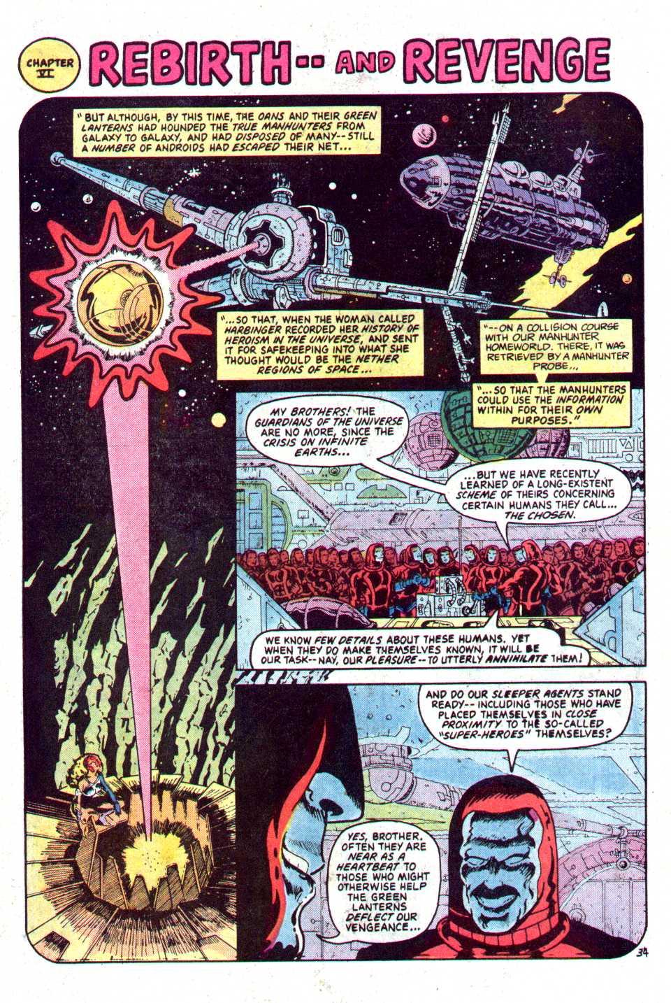 Read online Secret Origins (1986) comic -  Issue #22 - 35