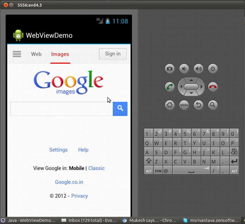 Android HTML5 developer's dream come true  Android WebView is now