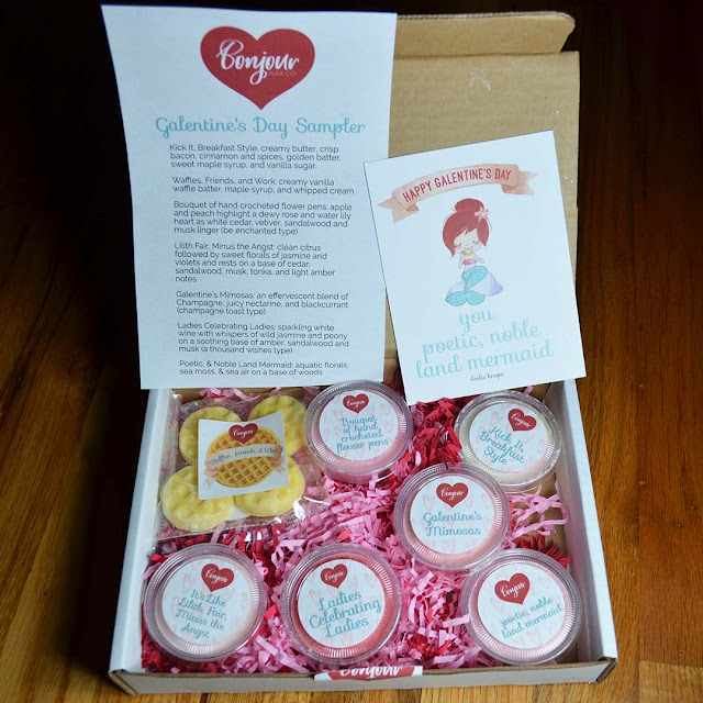 galentine's day wax sampler