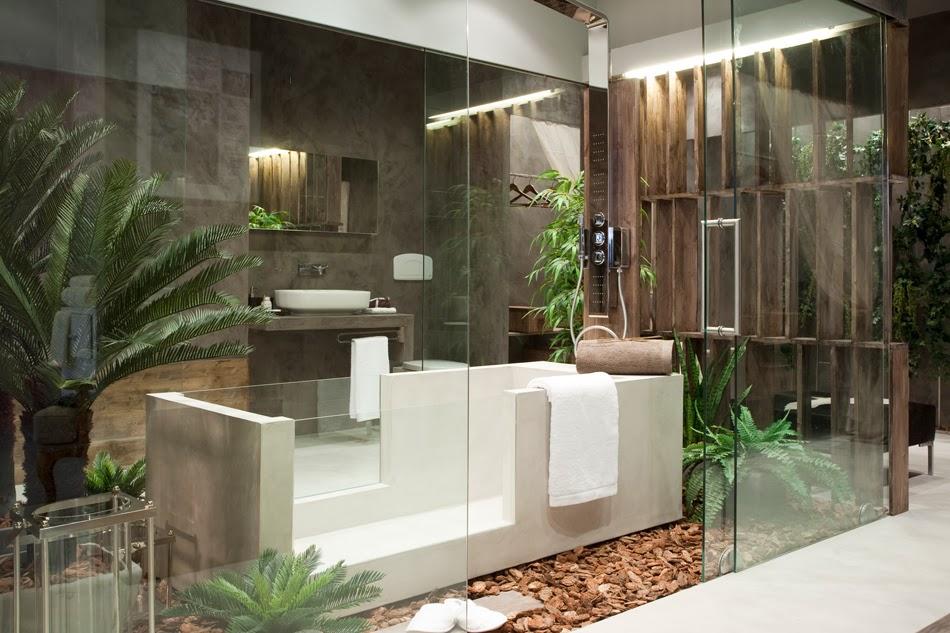 baño arquitectónico