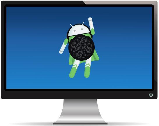 Android Oreo Stock - Fond d'Écran en Quad HD 1440p